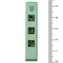 Abstract Mezuzah - Medium 10cm