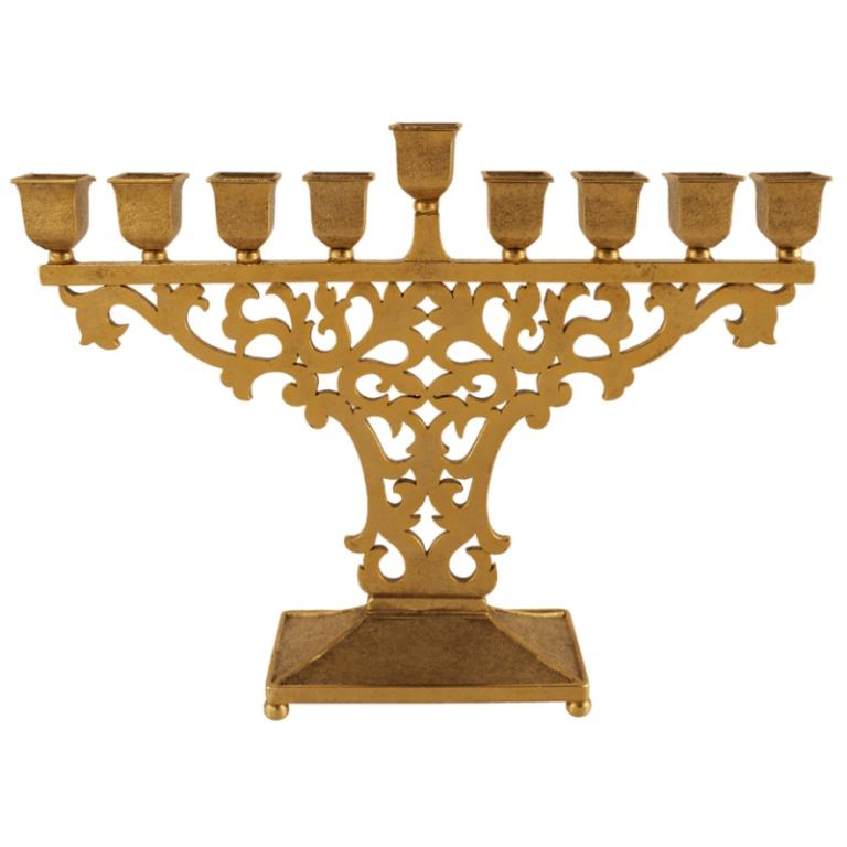 Byzantine Menorah - Gold