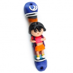 Dora The Explorer Fimo Mezuzah