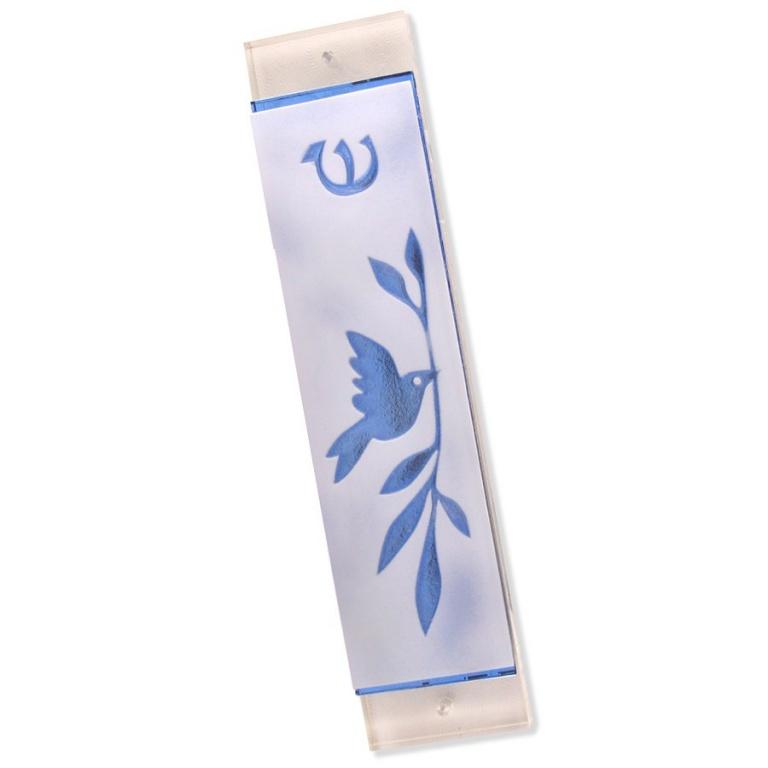 Dove of Peace Mezuzah