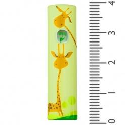 Happy Giraffes Childrens' Mezuzah