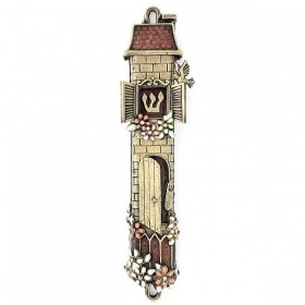House Mezuzah Brown