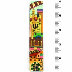 Jerusalem Mezuzah in Full Color