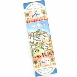 Jerusalem Peace Car Mezuzah