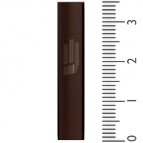 Sandblasted Mezuzah in Bronze - Small