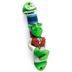 Shrek Fimo Mezuzah