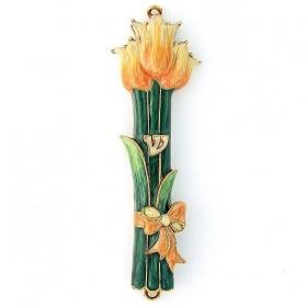 Tulip Mezuzah